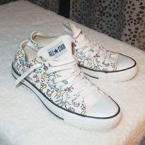 Limited Edition Converse All Stars size 8